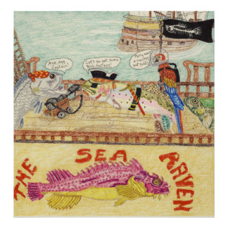 Aboard The Sea Raven Poster