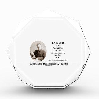 Abogado (Ambrose Bierce el diccionario del diablo)
