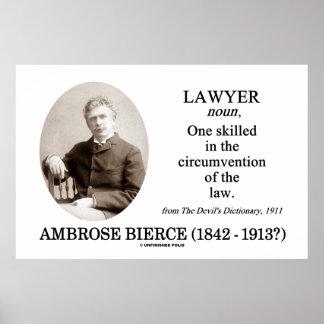 Abogado (Ambrose Bierce el diccionario del diablo) Poster