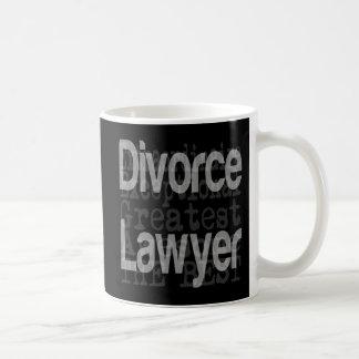 Abogado de divorcio Extraordinaire Taza Clásica