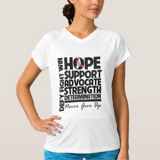 Abogado de la ayuda de la esperanza del cáncer de playera