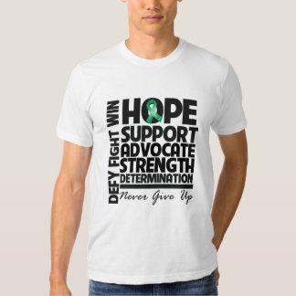 Abogado de la ayuda de la esperanza del cáncer de playeras