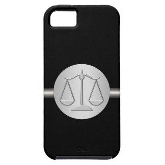 Abogado del caso del iPhone 5 del monograma iPhone 5 Case-Mate Protectores