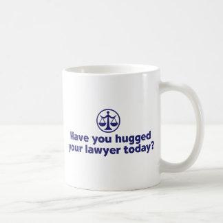 Abogado divertido taza de café