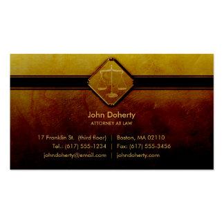 ABOGADO EN la LEY - tarjeta de visita profesional