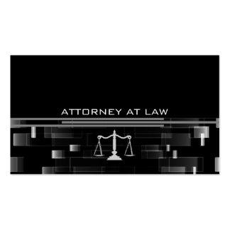 abogado en la ley tarjetas de visita