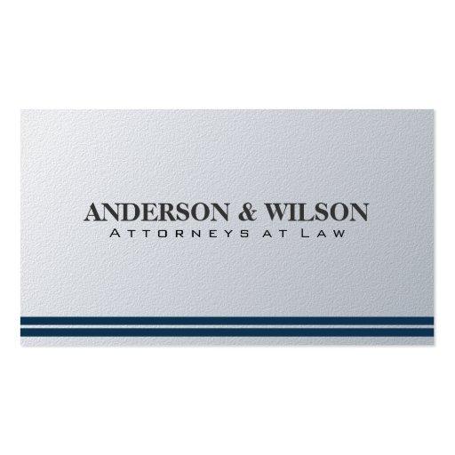 Abogado en la ley - tarjetas de visita