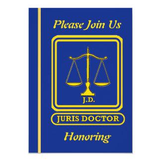 Abogado J.D. Retirement Invitation Comunicado