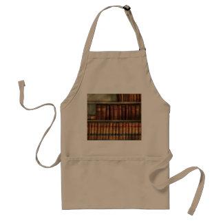 Abogado - libros - libros de ley delantal