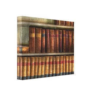 Abogado - libros - libros de ley impresión en lona estirada