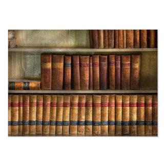 """Abogado - libros - libros de ley invitación 5"""" x 7"""""""