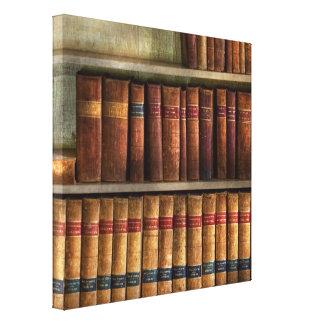 Abogado - libros - libros de ley lona estirada galerías