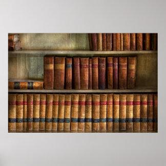 Abogado - libros - libros de ley poster