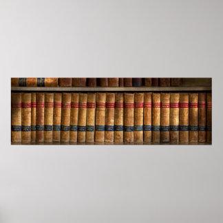 Abogado - libros - libros de ley posters