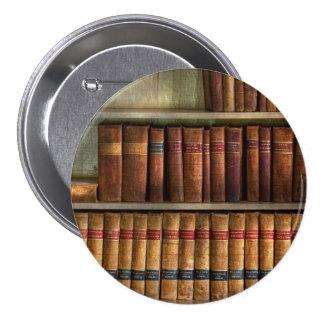 Abogado - libros - libros de ley pin redondo de 3 pulgadas