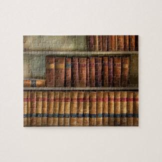 Abogado - libros - libros de ley puzzle