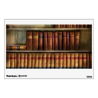 Abogado - libros - libros de ley vinilo adhesivo