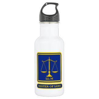 Abogado LL.D Botella De Agua De Acero Inoxidable