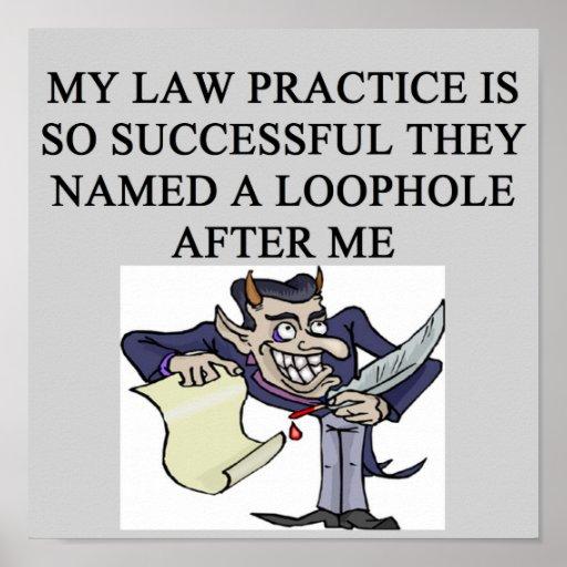 abogado malvado poster