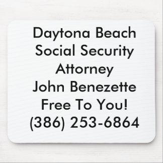 Abogado Ormond de la Seguridad Social de Daytona B Alfombrilla De Ratones