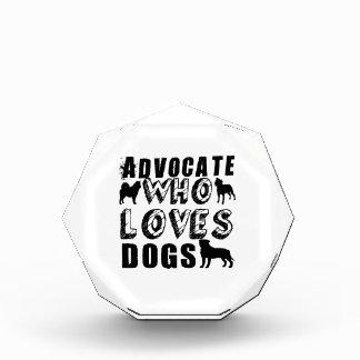 Abogado que ama perros