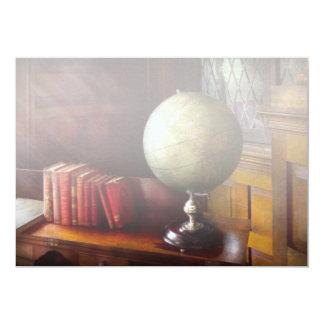 Abogado - viajero de mundo invitación 12,7 x 17,8 cm