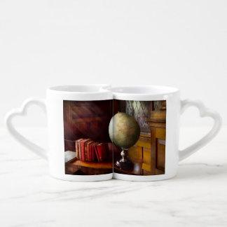 Abogado - viajero de mundo set de tazas de café