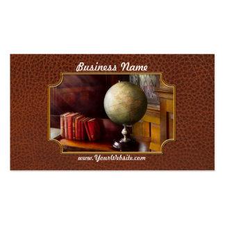 Abogado - viajero de mundo tarjetas de visita