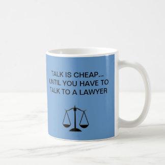 Abogados divertidos de las tazas de café