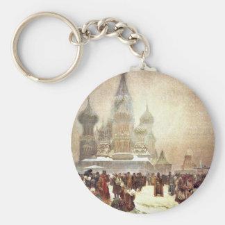Abolición del Serfdom en Rusia 1914 Llaveros