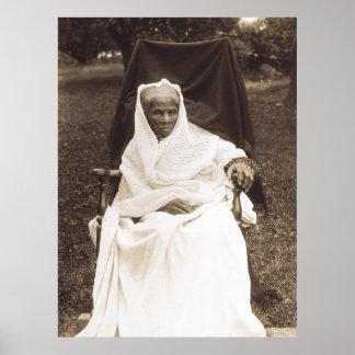 Abolicionista del afroamericano de Harriet Tubman Póster
