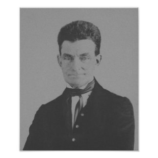 Abolicionista Juan Brown Póster
