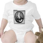 Abolicionista y sufragista americanos de piedra de trajes de bebé