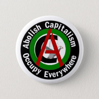 Abolish Capitalism Occupy Everywhere Button