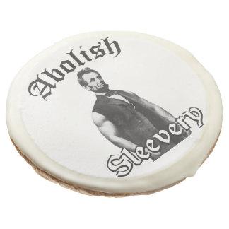 Abolish Sleevery - Abraham Lincoln Sugar Cookie