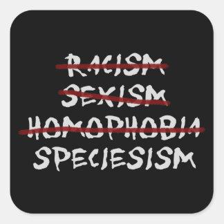 Abolish Speciesism Next! Square Sticker
