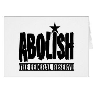 Abolish The Fed Card