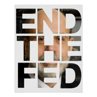 Abolish the Fed Poster