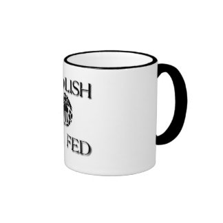 Abolish The Fed Ringer Mug