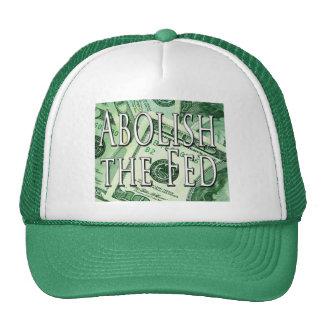 Abolish the Federal Reserve Hat Cap