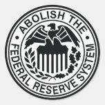 Abolish The Federal Reserve Sticker