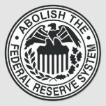 Abolish The Federal Reserve Stickers