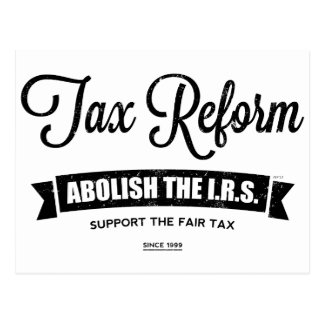 Abolish The I.R.S. Postcard