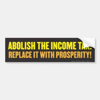 Abolish the Income Tax Bumper Sticker