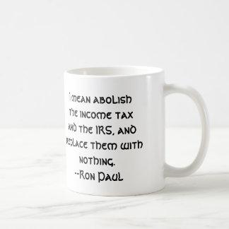 Abolish the IRS Coffee Mug