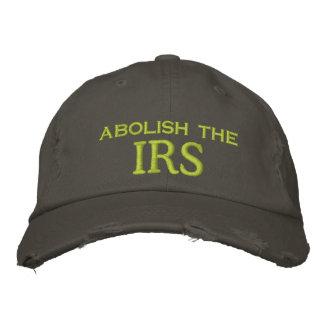 abolish the, IRS Embroidered Baseball Cap