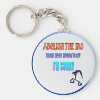 Abolish The IRS Keychain