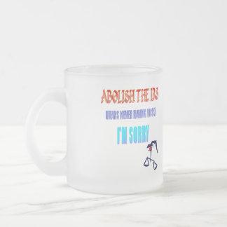 Abolish The IRS Coffee Mugs