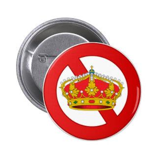 Abolish The Monarchy - 5,7 Cm Ronde button Pin Redondo 5 Cm