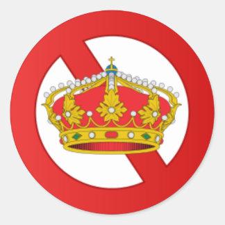 Abolish the Monarchy sticker